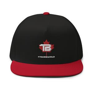 #TeamBujold Hat, White Logo